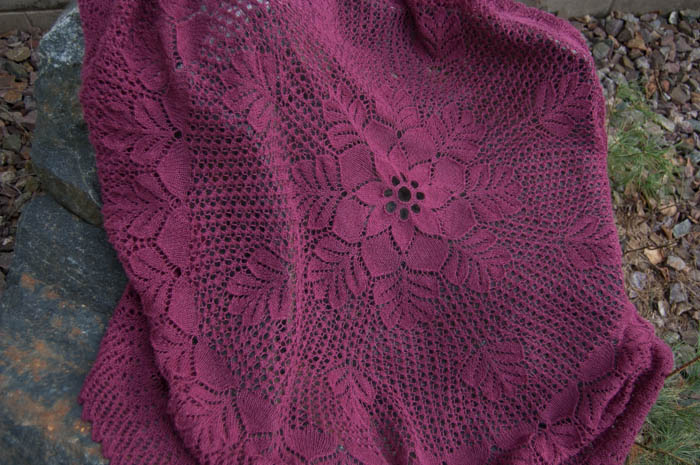 Oak Leaf Shawl